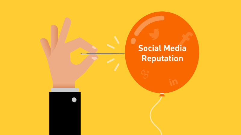 What is social media reputation management?