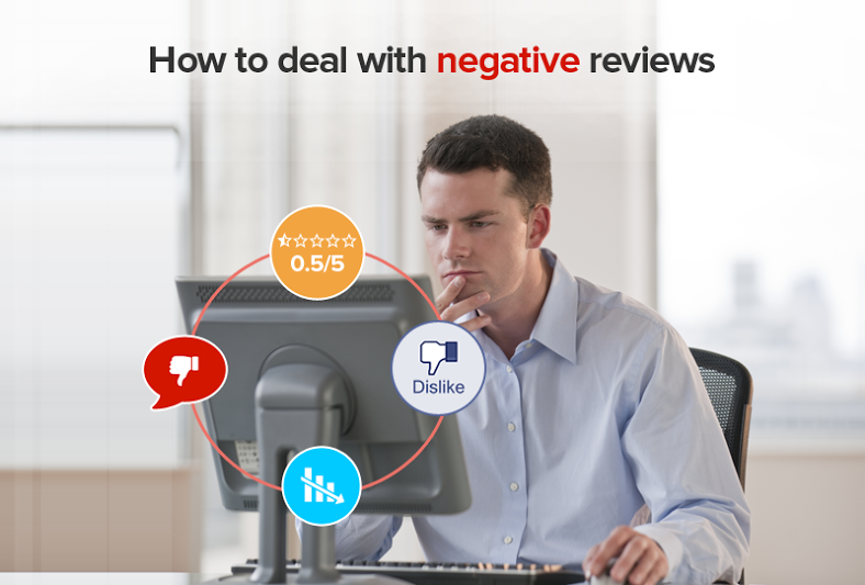 How to deal with Negative Reviews