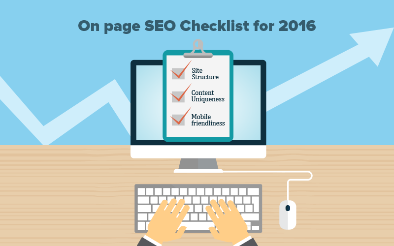 On Page SEO Checklist for 2016