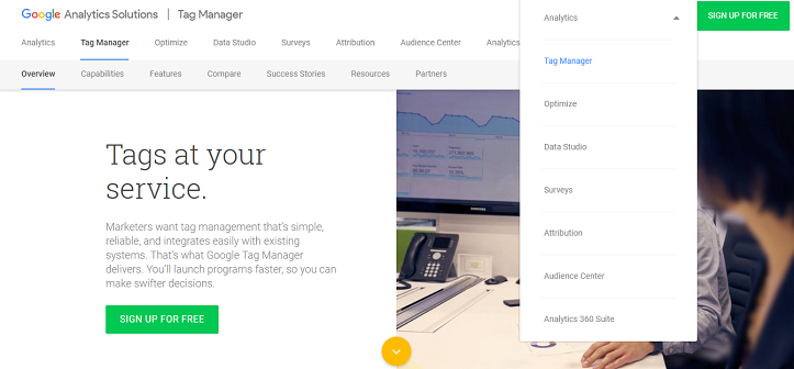 How to login to Google Tag Manager