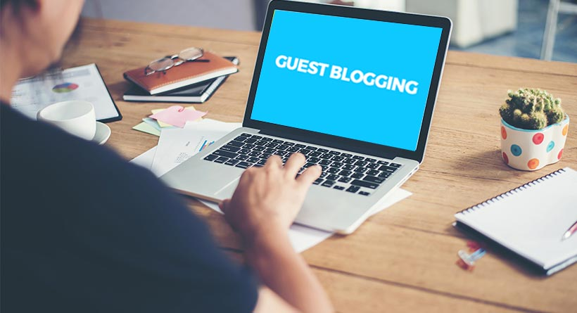 Off page SEO techniques 2017 - Guest Blogging