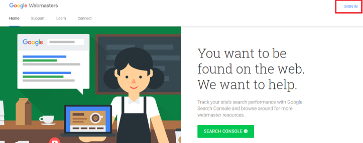 Google Search Console Account Login