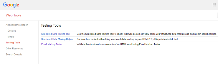 Google Search Console Tutorial - Testing Tools in Web Tools