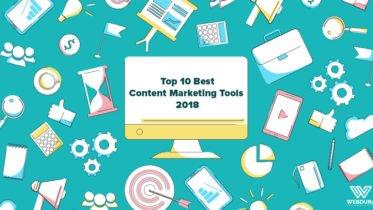 Top 10 Best Content Marketing Tools 2018